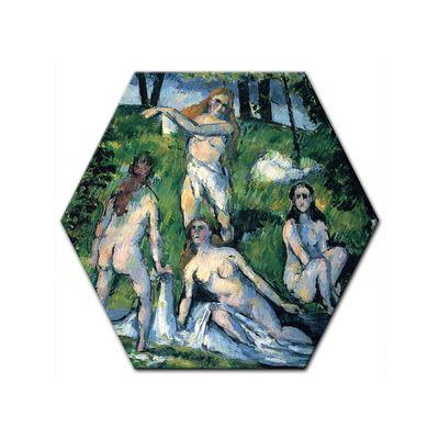 Kunstdruck - Alte Meister - Paul Cézanne - Badende – Bild 6