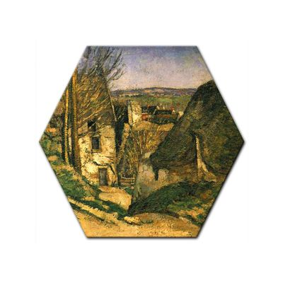 Kunstdruck - Alte Meister - Paul Cézanne - Das Haus des Gehenkten bei Auvers – Bild 2