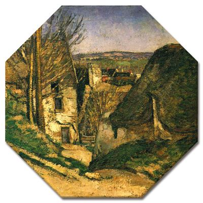 Kunstdruck - Alte Meister - Paul Cézanne - Das Haus des Gehenkten bei Auvers – Bild 4