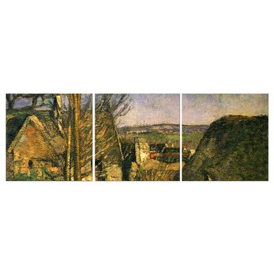 Kunstdruck - Alte Meister - Paul Cézanne - Das Haus des Gehenkten bei Auvers – Bild 7