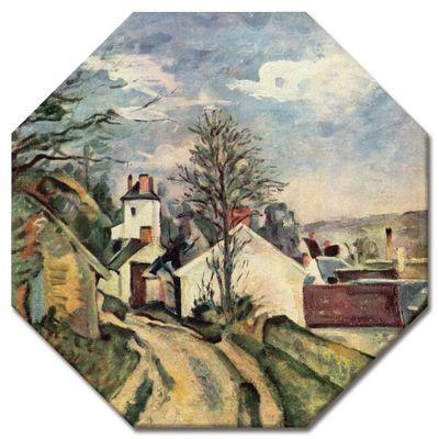 Kunstdruck - Alte Meister - Paul Cézanne - Das Haus von Dr. Gachet – Bild 4