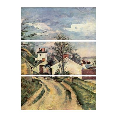 Kunstdruck - Alte Meister - Paul Cézanne - Das Haus von Dr. Gachet – Bild 6