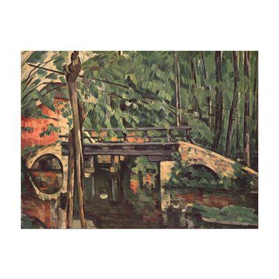Kunstdruck - Alte Meister - Paul Cézanne - Die Brücke von Maincy – Bild 2