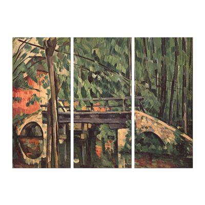 Kunstdruck - Alte Meister - Paul Cézanne - Die Brücke von Maincy – Bild 7