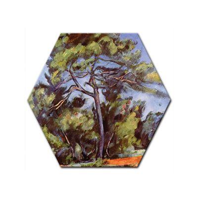 Kunstdruck - Alte Meister - Paul Cézanne - Die grosse Kiefer – Bild 5