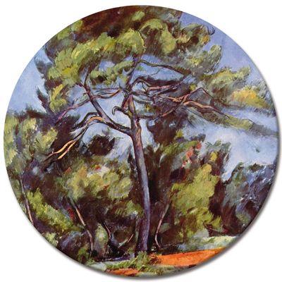 Kunstdruck - Alte Meister - Paul Cézanne - Die grosse Kiefer – Bild 3