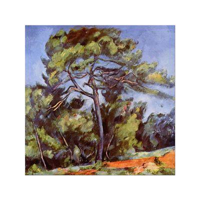 Kunstdruck - Alte Meister - Paul Cézanne - Die grosse Kiefer – Bild 7