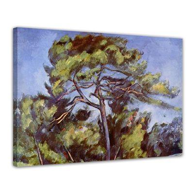 Kunstdruck - Alte Meister - Paul Cézanne - Die grosse Kiefer – Bild 1