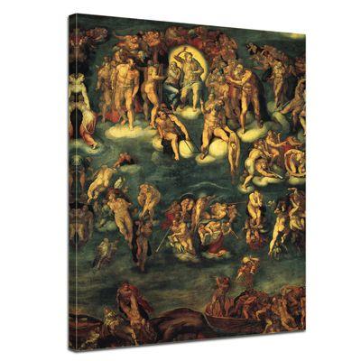 Michelangelo - Jüngstes Gericht I – Bild 1