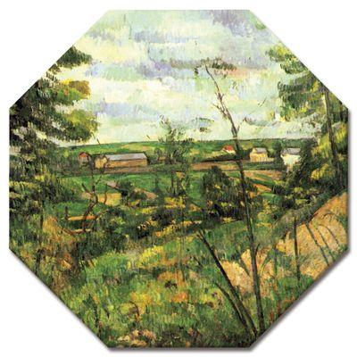 Kunstdruck - Alte Meister - Paul Cézanne - Das Tal der Oise – Bild 4