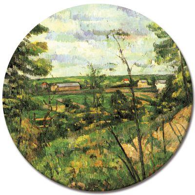 Kunstdruck - Alte Meister - Paul Cézanne - Das Tal der Oise – Bild 3