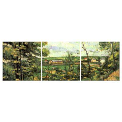 Kunstdruck - Alte Meister - Paul Cézanne - Das Tal der Oise – Bild 7