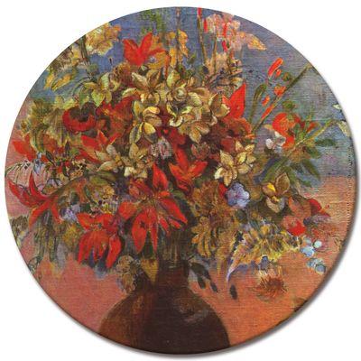 Kunstdruck - Alte Meister - Paul Gauguin - Blumen und Katzen – Bild 5