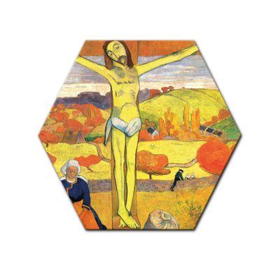 Leinwandbild - Alte Meister - Paul Gauguin - Der gelbe Christus – Bild 6