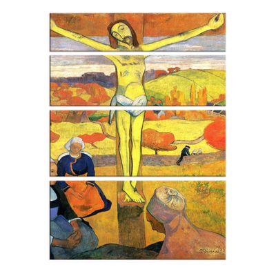Leinwandbild - Alte Meister - Paul Gauguin - Der gelbe Christus – Bild 4