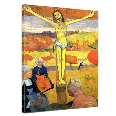 Kunstdruck - Alte Meister - Paul Gauguin - Der gelbe Christus – Bild 1