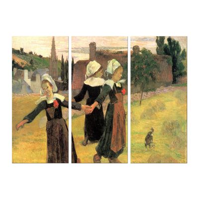 Kunstdruck - Alte Meister - Paul Gauguin - Der Reigen der kleinen Bretonninen – Bild 6