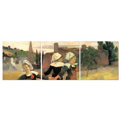 Kunstdruck - Alte Meister - Paul Gauguin - Der Reigen der kleinen Bretonninen – Bild 3