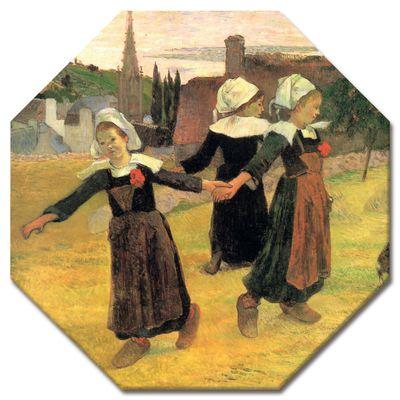 Leinwandbild - Alte Meister - Paul Gauguin - Der Reigen der kleinen Bretonninen – Bild 9