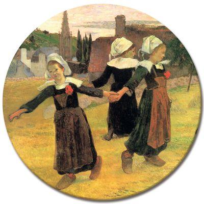 Kunstdruck - Alte Meister - Paul Gauguin - Der Reigen der kleinen Bretonninen – Bild 7