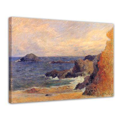 Paul Gauguin - Felsige Meerküste – Bild 1