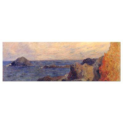 Leinwandbild - Alte Meister - Paul Gauguin - Felsige Meerküste – Bild 5