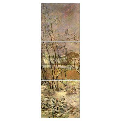 Kunstdruck - Alte Meister - Paul Gauguin - Schnee in der Rue Carcel – Bild 7