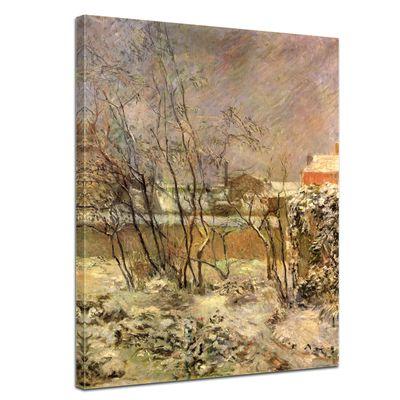 Paul Gauguin - Schnee in der Rue Carcel