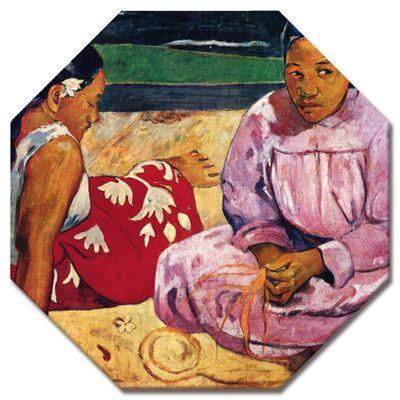 Leinwandbild - Alte Meister - Paul Gauguin - Frauen am Strand – Bild 7