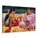Paul Gauguin - Frauen am Strand