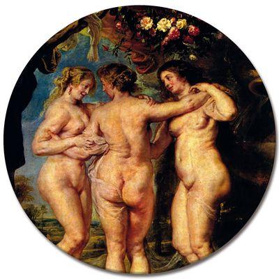 Peter Paul Rubens - Die drei Grazien – Bild 4