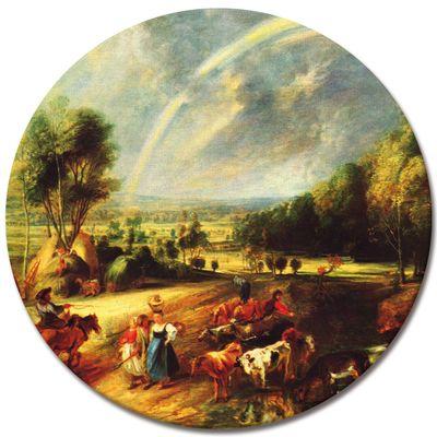 Peter Paul Rubens - Landschaft mit dem Regenbogen – Bild 5