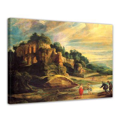 Peter Paul Rubens - Landschaft mit den Ruinen des Hügels Palatin in Rom – Bild 1