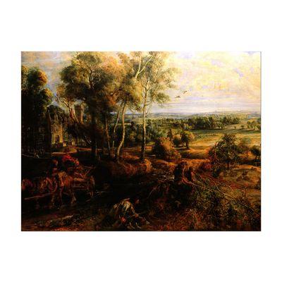 Peter Paul Rubens - Landschaft mit Ansicht von Schloss Steen – Bild 2