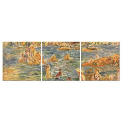 Kunstdruck - Alte Meister - Pierre-Auguste Renoir - Am Strand von Guernesey – Bild 3
