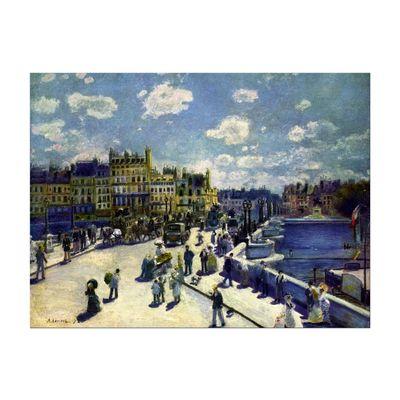 Kunstdruck - Alte Meister - Pierre-Auguste Renoir - Pont-Neuf – Bild 2