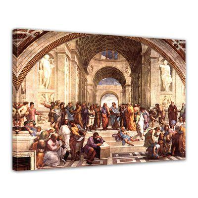 Leinwandbild - Alte Meister - Raffael - Die Schule von Athen – Bild 1