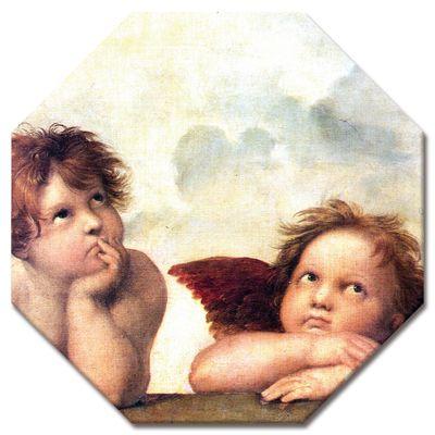 Kunstdruck - Alte Meister - Raffael - Engel - Detail Sixtinische Madonna – Bild 8