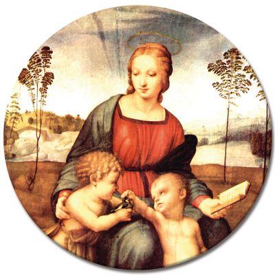 Leinwandbild - Alte Meister - Raffael - Madonna del cardellino – Bild 6