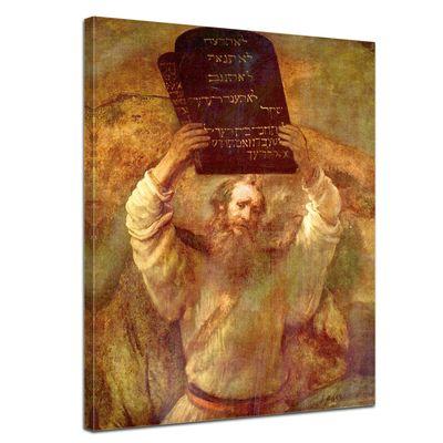 Rembrandt - Moses mit den Gesetzestafeln – Bild 1