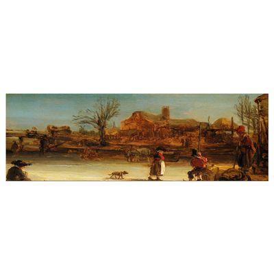 Rembrandt - Winterlandschaft – Bild 8