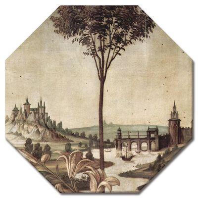 Sandro Botticelli - Landschaft - Detail Verkündigung – Bild 4