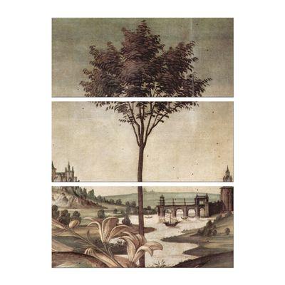 Sandro Botticelli - Landschaft - Detail Verkündigung – Bild 6