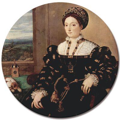 Kunstdruck - Alte Meister - Tizian - Porträt der Eleonora Gonzaga della Rovere – Bild 6