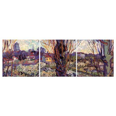 Leinwandbild - Alte Meister - Vincent van Gogh - Blick auf Arles – Bild 5