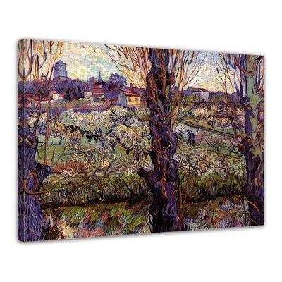 Kunstdruck - Alte Meister - Vincent van Gogh - Blick auf Arles – Bild 1