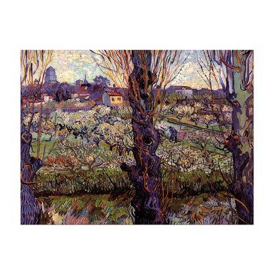 Leinwandbild - Alte Meister - Vincent van Gogh - Blick auf Arles – Bild 2