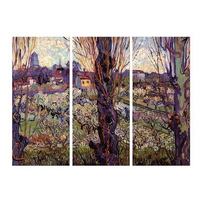 Leinwandbild - Alte Meister - Vincent van Gogh - Blick auf Arles – Bild 4