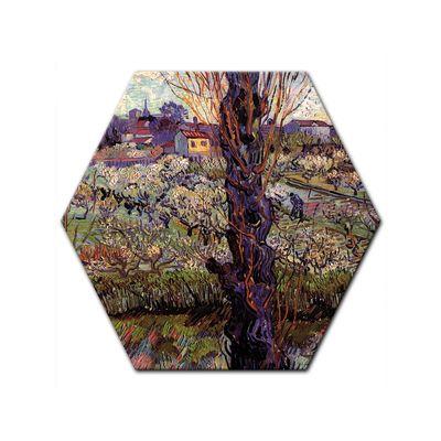Leinwandbild - Alte Meister - Vincent van Gogh - Blick auf Arles – Bild 7