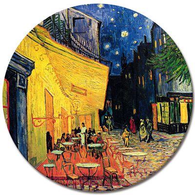 Leinwandbild - Alte Meister - Vincent van Gogh - Caféterrasse am Abend – Bild 3